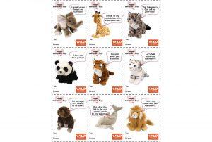 Cuddlekins Valentine's Day Cards