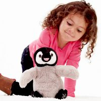 Wild Republic Sing & Play Happy Penguin Plush