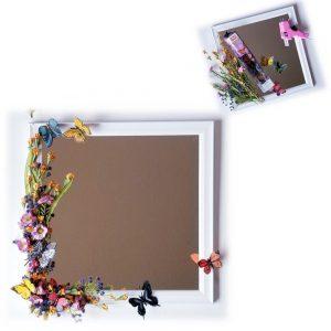 Butterfly Garden Mirror