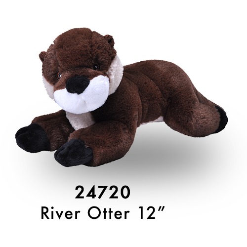 24720 Eco Laying River Otter