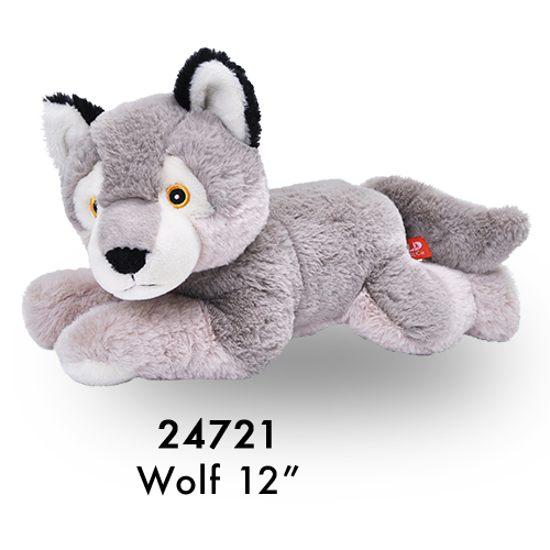 24721 Eco Laying Wolf