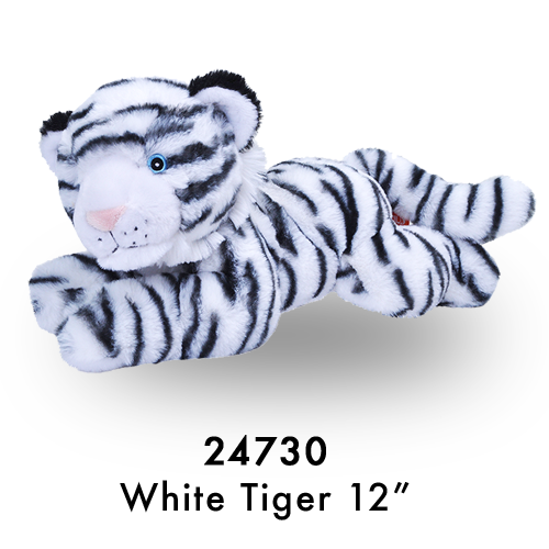 24730 Eco Laying White Tiger