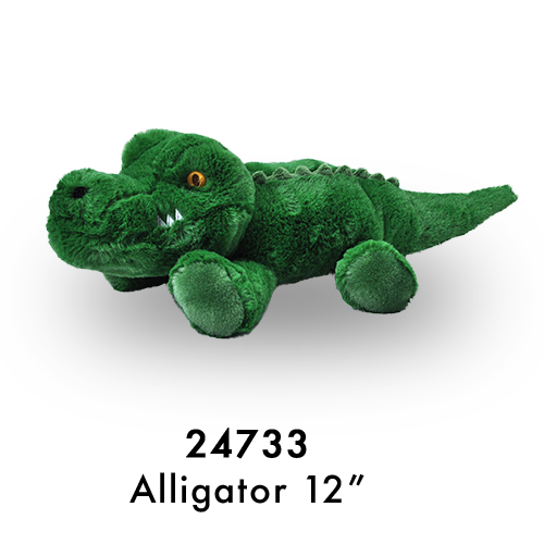 24733 Eco Laying Alligator Green
