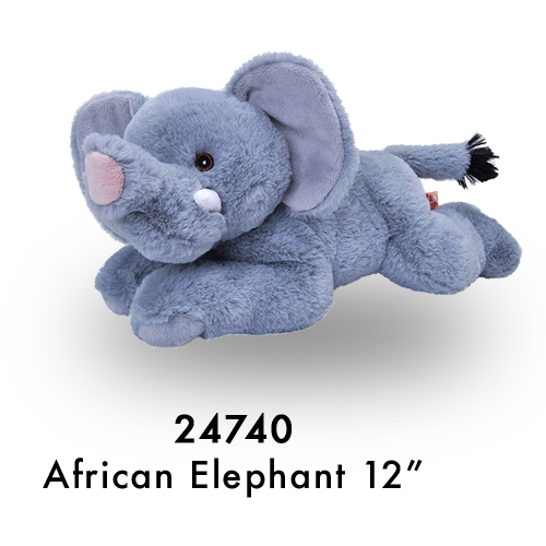 24740 Eco Laying African Elephant