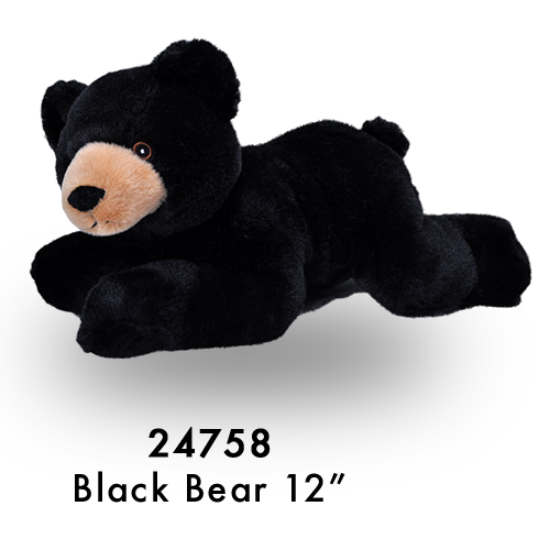 24758 Eco Laying Blk Bear
