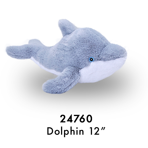 24760 Eco Laying Dolphin