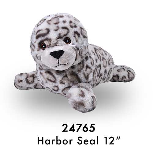 24765 Eco Laying Harbor Seal