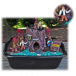Pirate Treasure Chest Planter
